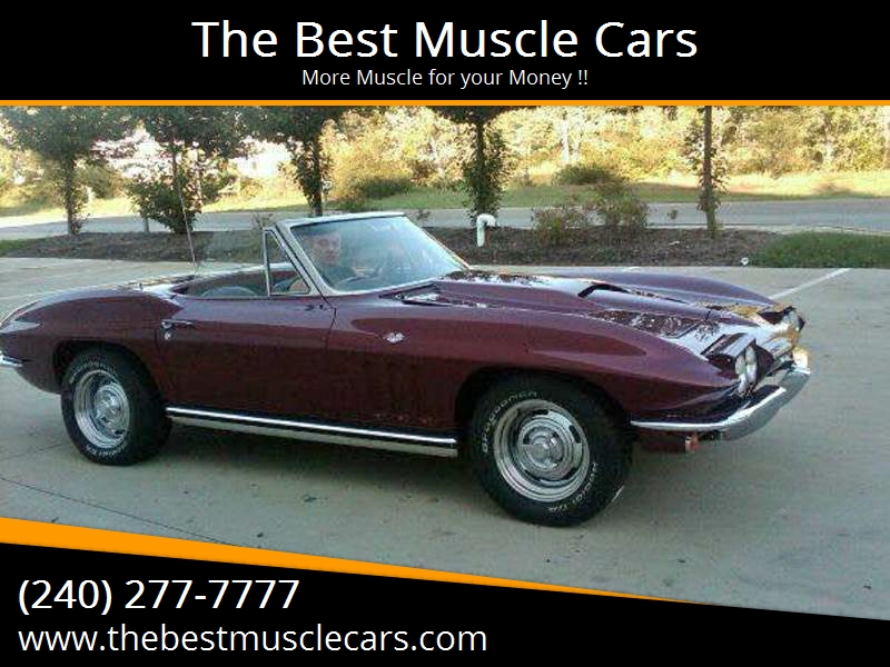 Best Muscle Cars for Sale in America | Erics Muscle Cars - Erics\'s ...