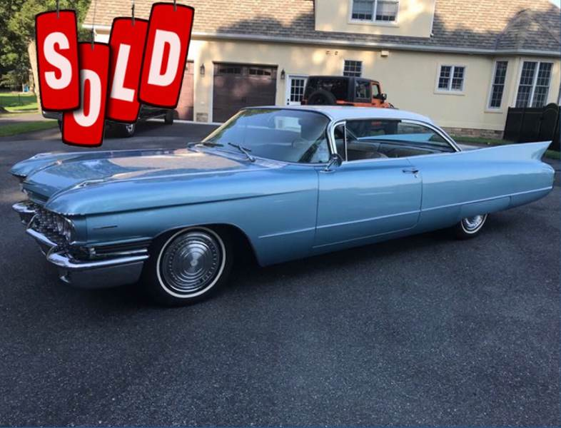 1960 Cadillac Series 62 SOLD SOLD SOLD