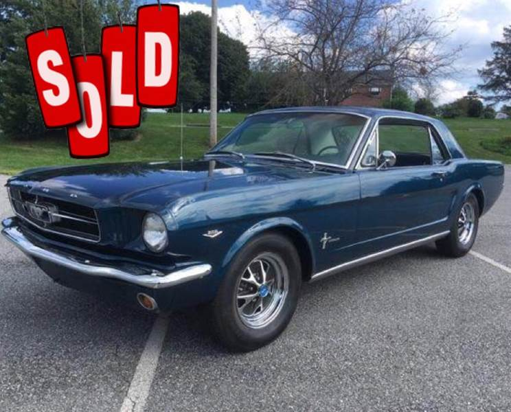 1964 Ford Mustang SOLD SOLD SOLD