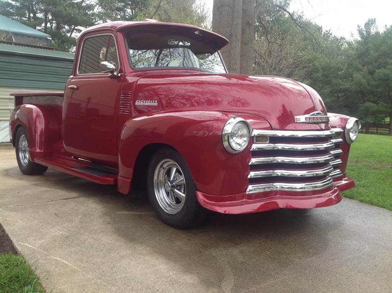 1953 Chevrolet Pickup Custom