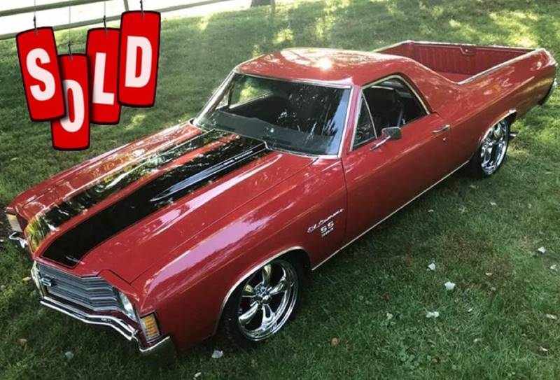 1972 Chevrolet El Camino SOLD SOLD SOLD