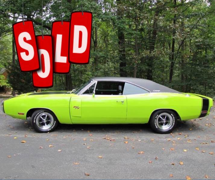 1970 Dodge Charger SOLD SOLD SOLD
