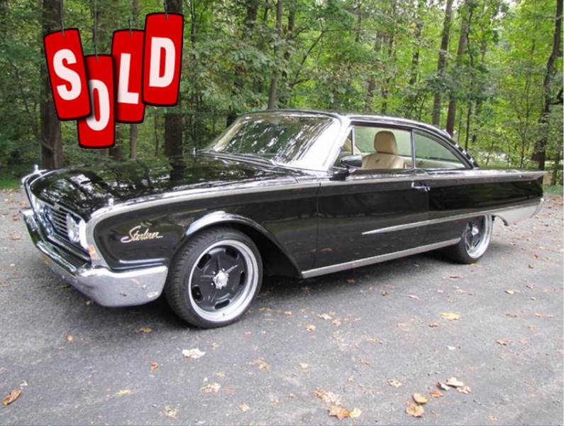 1960 Ford Galaxie Starliner SOLD SOLD SOLD