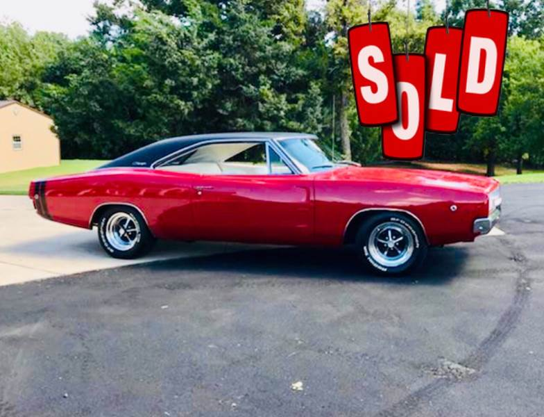 1968 Dodge Charger SOLD SOLD SOLD