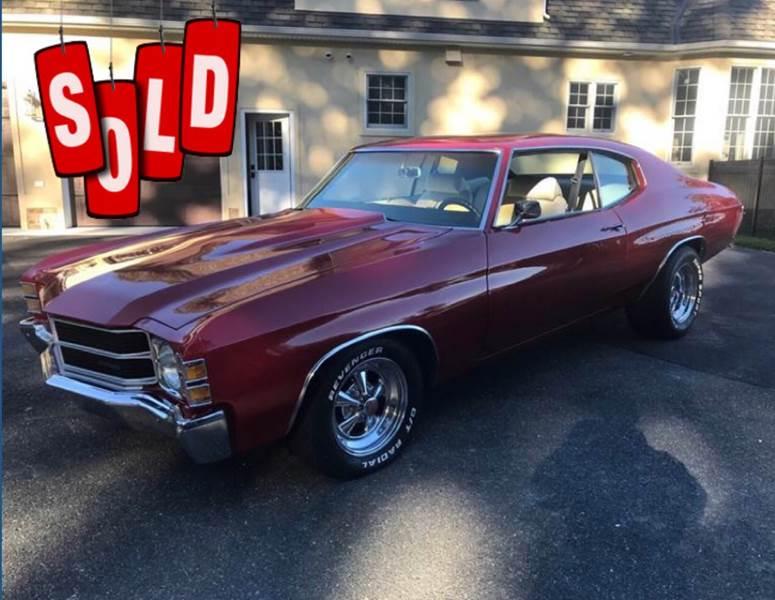 1971 Chevrolet Malibu SOLD SOLD SOLD