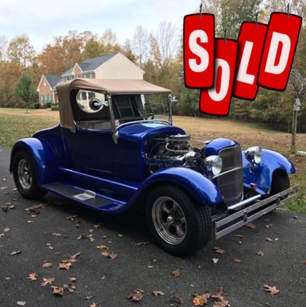1926 Ford Roadster SOLD SOLD SOLD