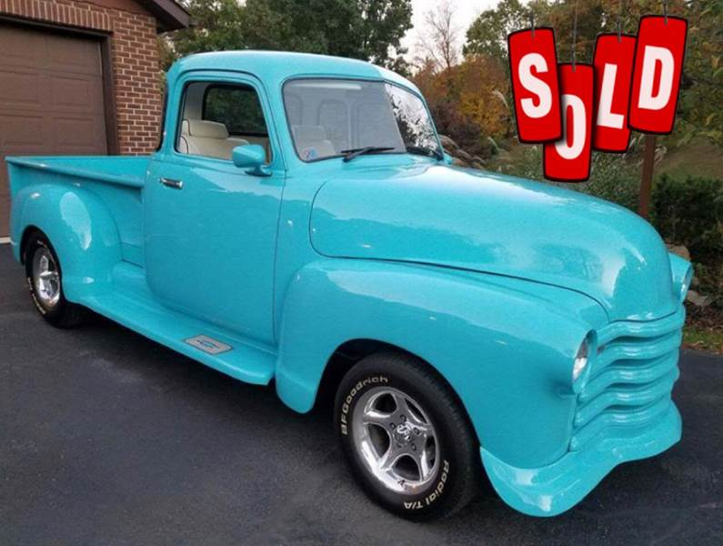 1947 Chevrolet Pickup SOLD SOLD SOLD