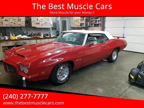 1971 Pontiac GTO for sale in Clarksburg, MD