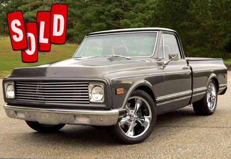 1972 Chevrolet Cheyenne SOLD SOLD SOLD