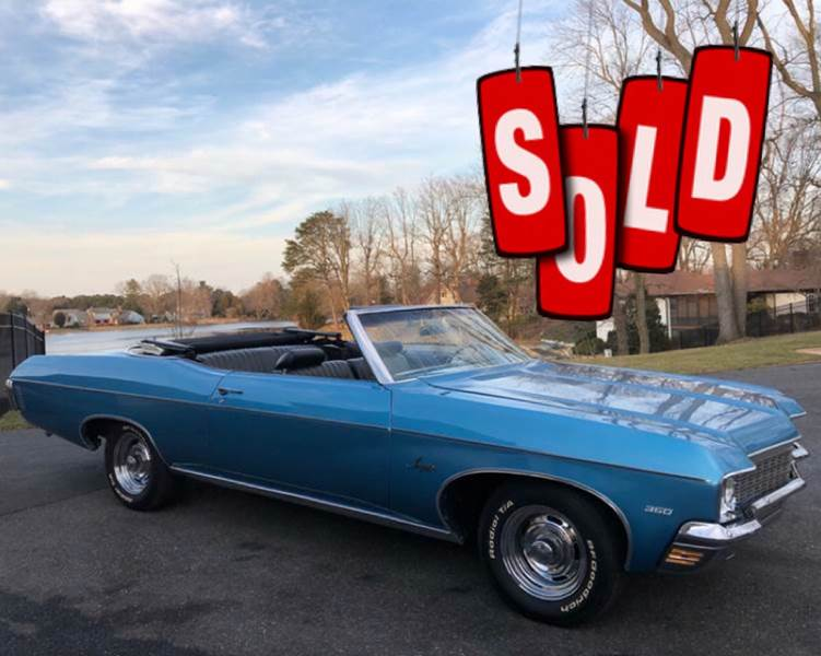 1970 Chevrolet Impala SOLD SOLD SOLD