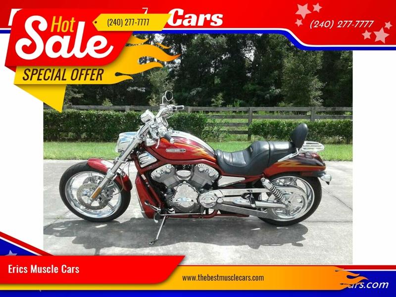 2005 Harley-Davidson V-Rod Screamin Eagle