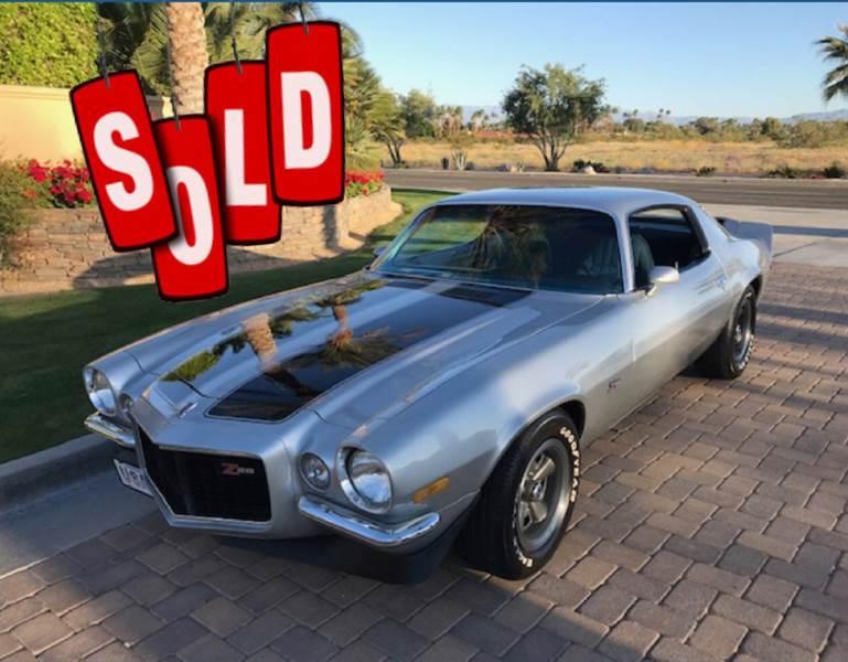 1971 Chevrolet Camaro Z28 SOLD SOLD SOLD