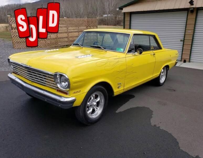 1963 Chevrolet Nova SS SOLD SOLD SOLD