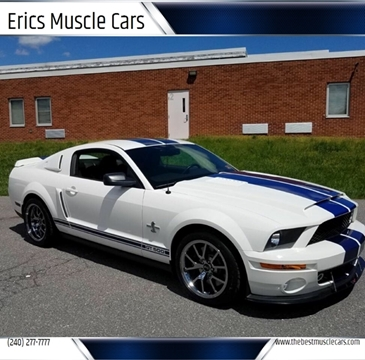 2007 Ford Shelby GT500 for sale in Clarksburg, MD