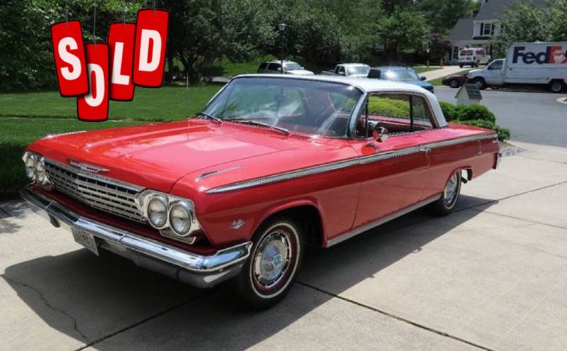 1962 Chevrolet Impala SOLD SOLD SOLD