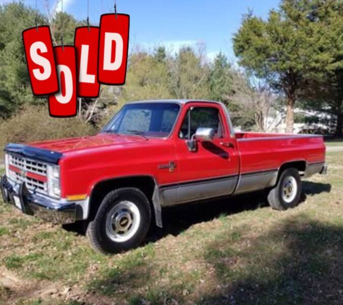 1985 Chevrolet CK20 SOLD SOLD SOLD
