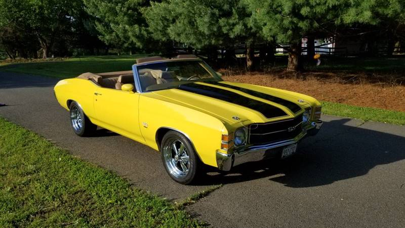1971 Chevrolet Chevelle 454 Convertible