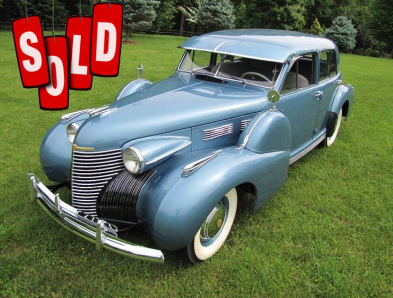 1940 Cadillac Series 60 SOLD SOLD SOLD