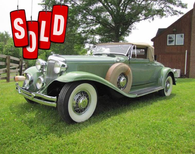 1931 Chrysler Imperial SOLD SOLD SOLD