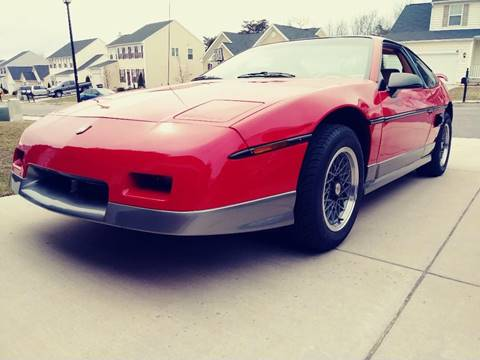 1986 Pontiac Fiero for sale in Clarksburg, MD