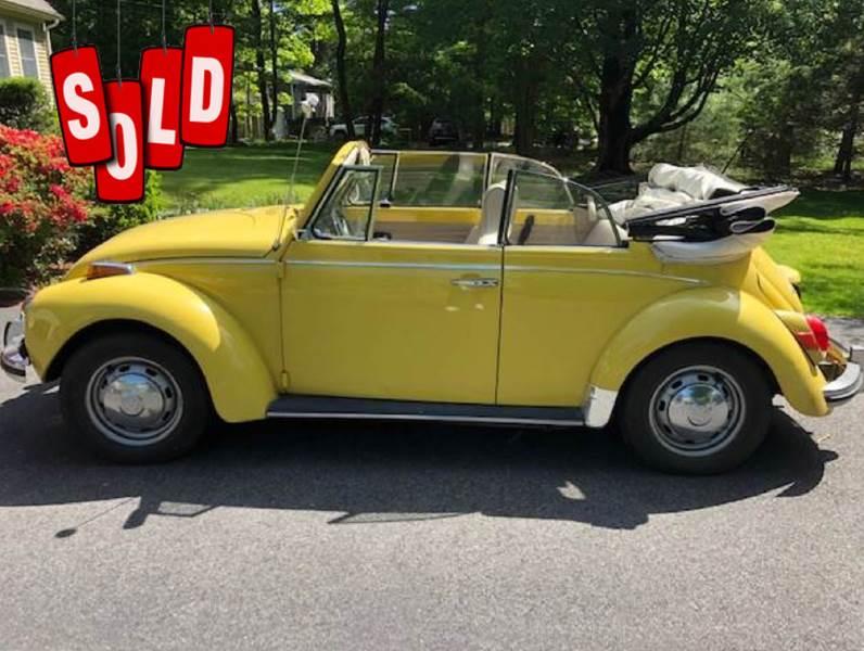 1972 Volkswagen Beetle Convertible SOLD SOLD SOLD