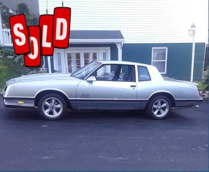 1988 Chevrolet Monte Carlo SOLD SOLD SOLD