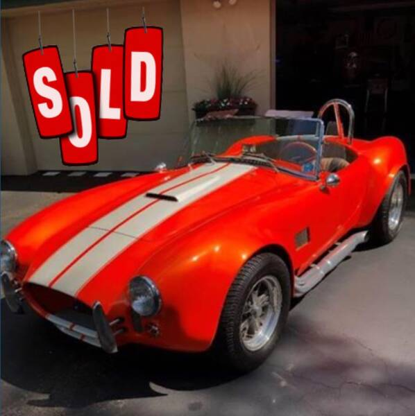 1967 Shelby Cobra SOLD SOLD SOLD