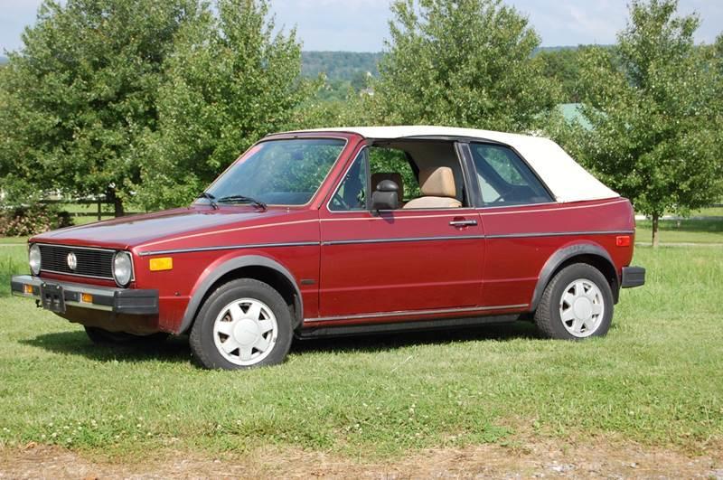 1987 Volkswagen Cabriolet SOLD SOLD SOLD