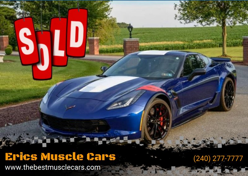 2017 Chevrolet Corvette SOLD SOLD SOLD