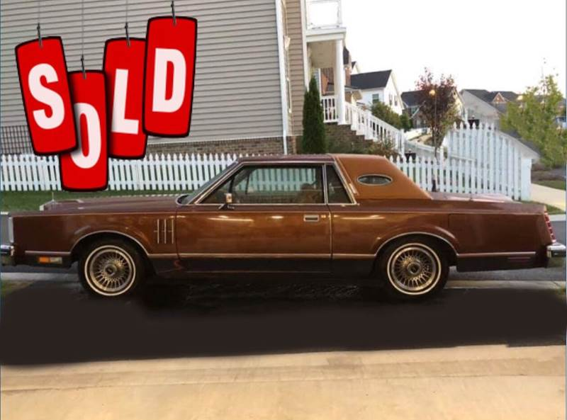 1980 Lincoln Continental SOLD SOLD SOLD