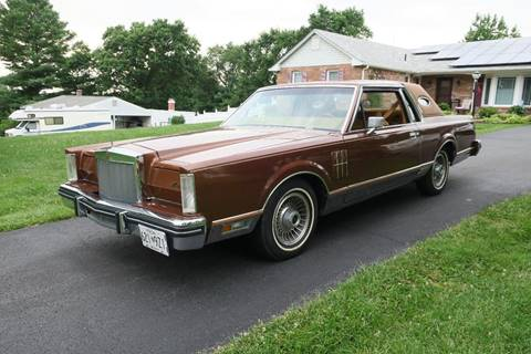 Used 1980 Lincoln Continental For Sale Carsforsale Com