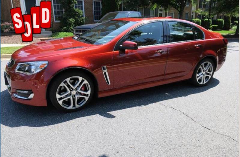 2016 Chevrolet SS SOLD SOLD SOLD