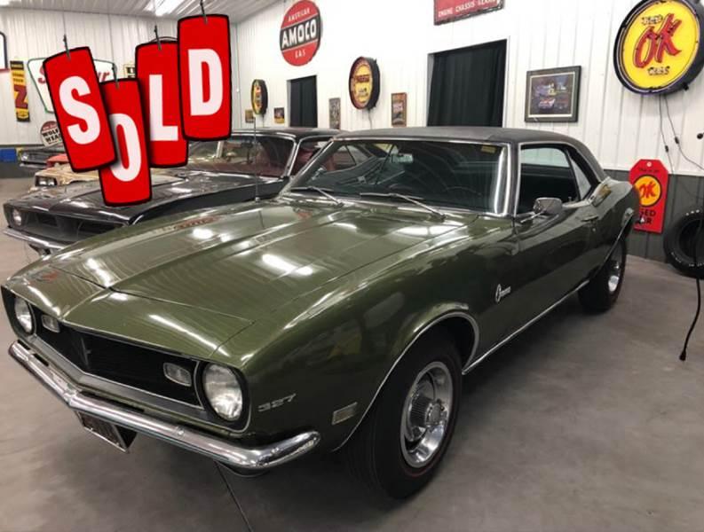 1968 Chevrolet Camaro SOLD SOLD SOLD