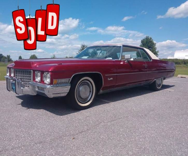 1971 Cadillac DeVille SOLD SOLD SOLD