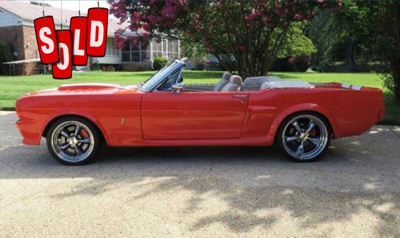 1966 Ford Mustang Convertible SOLD SOLD SOLD