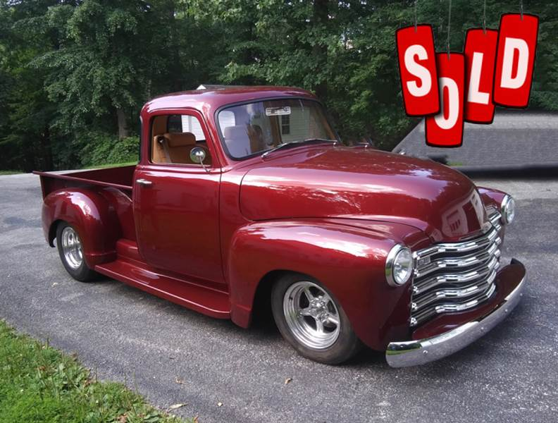 1950 Chevrolet Custom Pickup SOLD SOLD SOLD