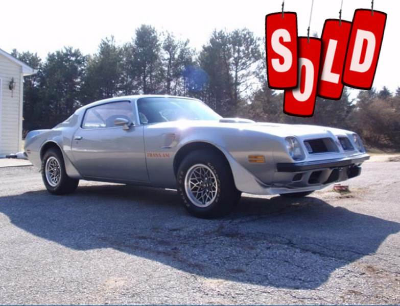 1975 Pontiac Firebird Trans Am SOLD SOLD SOLD