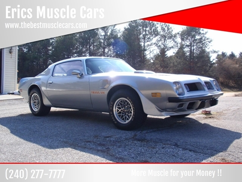 1975 Pontiac Firebird Trans Am for sale in Clarksburg, MD