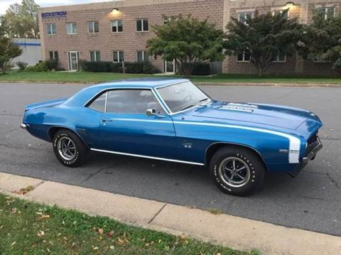 1969 Chevrolet Camaro for sale in Clarksburg, MD