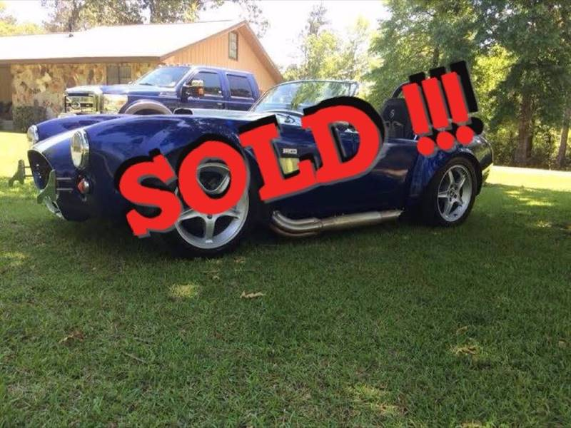 1965 AC Cobra Factory Five SOLD SOLD SOLD