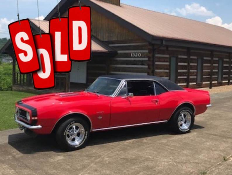 1967 Chevrolet SS Camaro SOLD SOLD SOLD