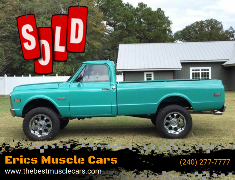 1972 GMC PickUp SOLD SOLD SOLD