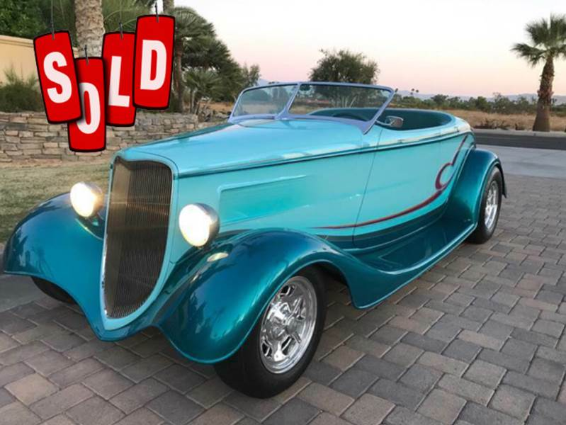 1933 Brizio Street Rod SOLD SOLD SOLD