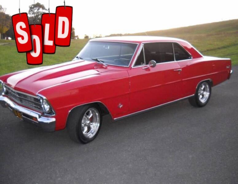 1967 Chevrolet Nova SOLD SOLD SOLD