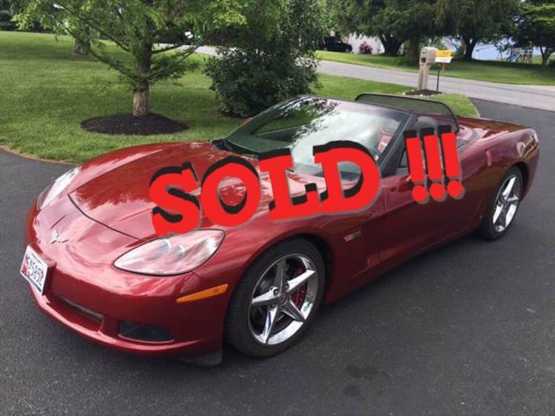 2006 Chevrolet Corvette SOLD SOLD SOLD