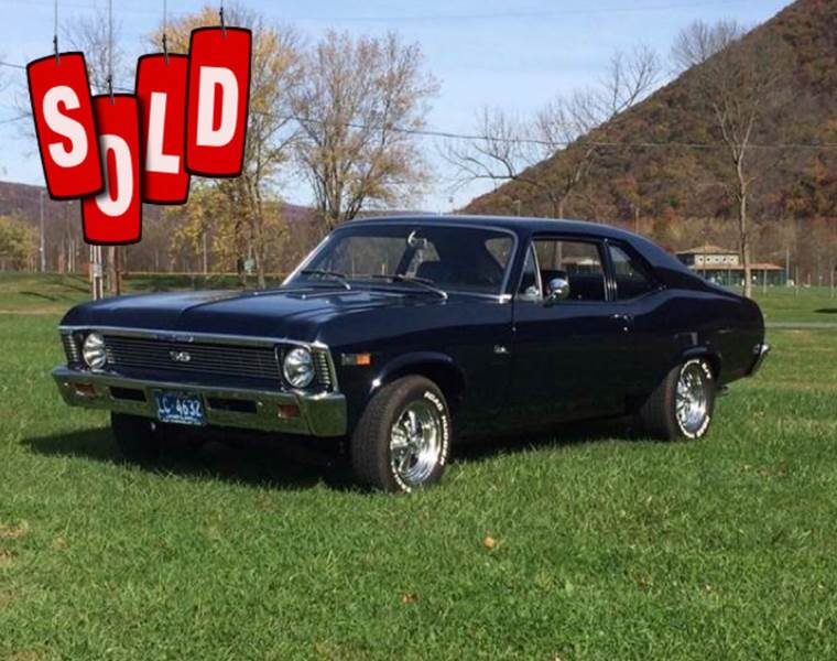 1969 Chevrolet Nova SS SOLD SOLD SOLD