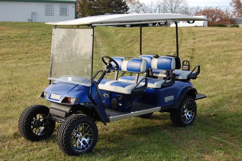0 EZ GO Golf cart