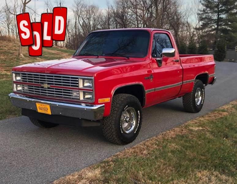1984 Chevrolet Silverado 1500 SOLD SOLD SOLD