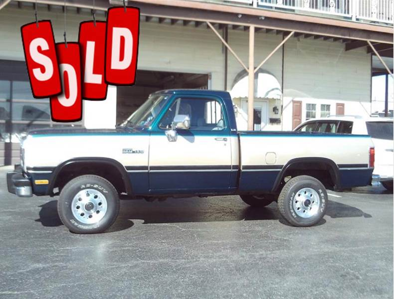 1993 Dodge RAM 150 SOLD SOLD SOLD