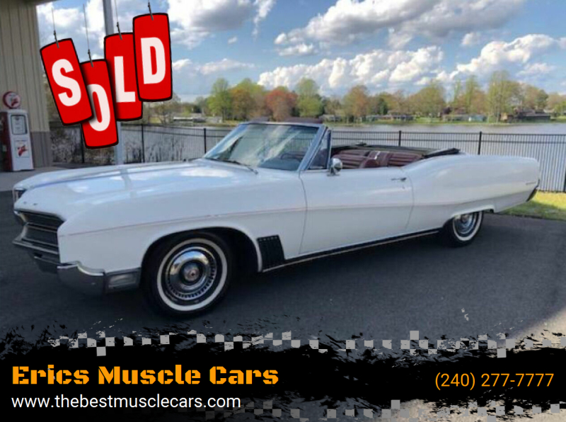 1967 Buick Wildcat Convertible SOLD SOLD SOLD